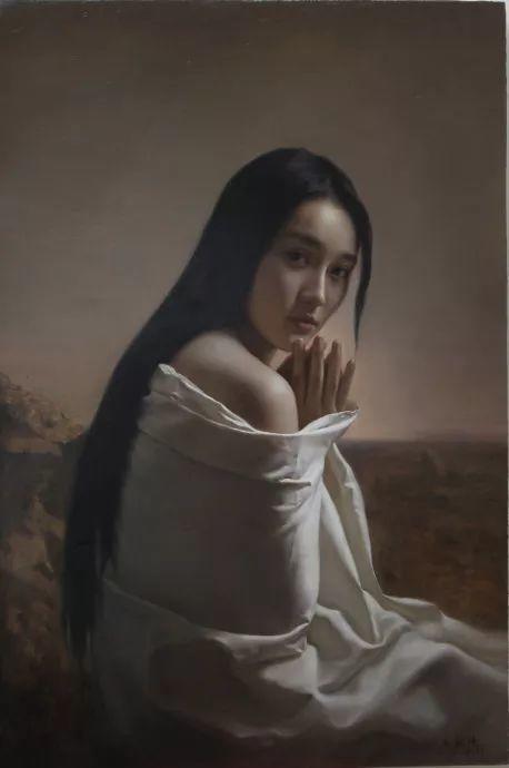 上古的空灵 王能俊油画作品欣赏插图29