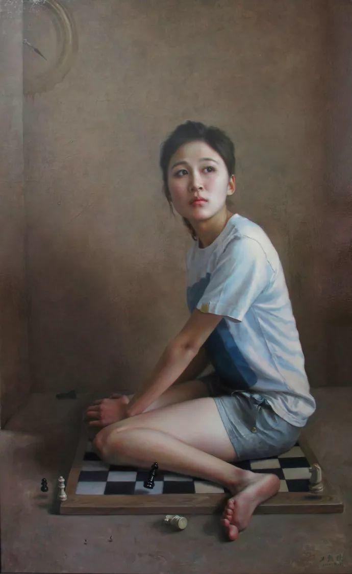 上古的空灵 王能俊油画作品欣赏插图71