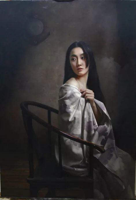 上古的空灵 王能俊油画作品欣赏插图77
