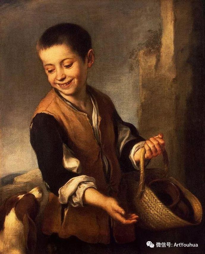 巴洛克时期西班牙画家——穆里罗插图14