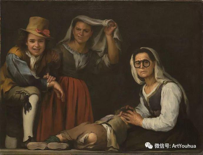 巴洛克时期西班牙画家——穆里罗插图23