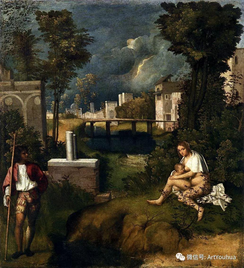 连载No.9 乔尔乔内 | 著名的意大利威尼斯画派画家插图3