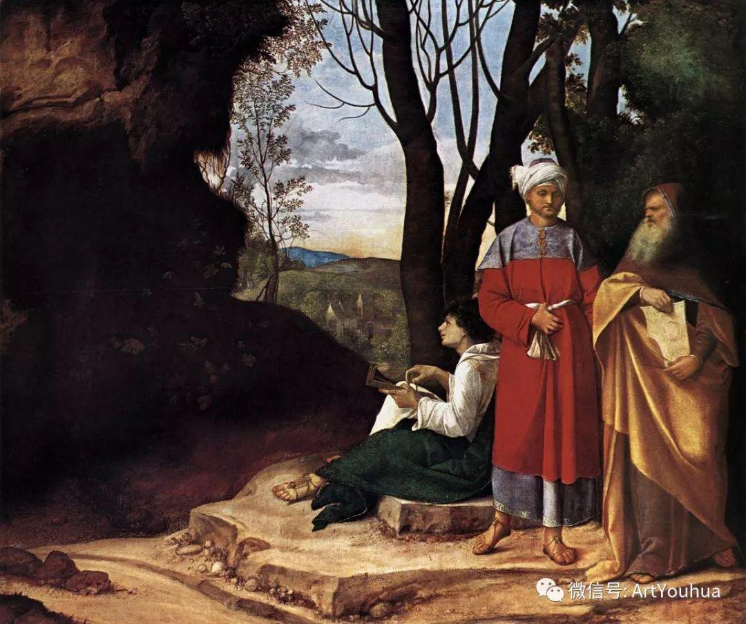 连载No.9 乔尔乔内 | 著名的意大利威尼斯画派画家插图7