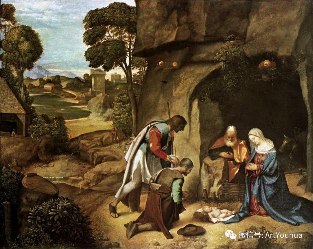 连载No.9 乔尔乔内 | 著名的意大利威尼斯画派画家插图13