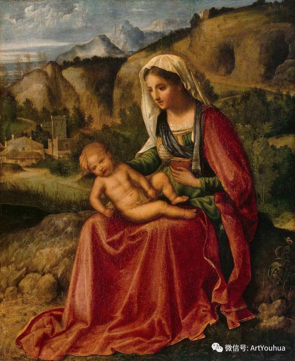 连载No.9 乔尔乔内 | 著名的意大利威尼斯画派画家插图25