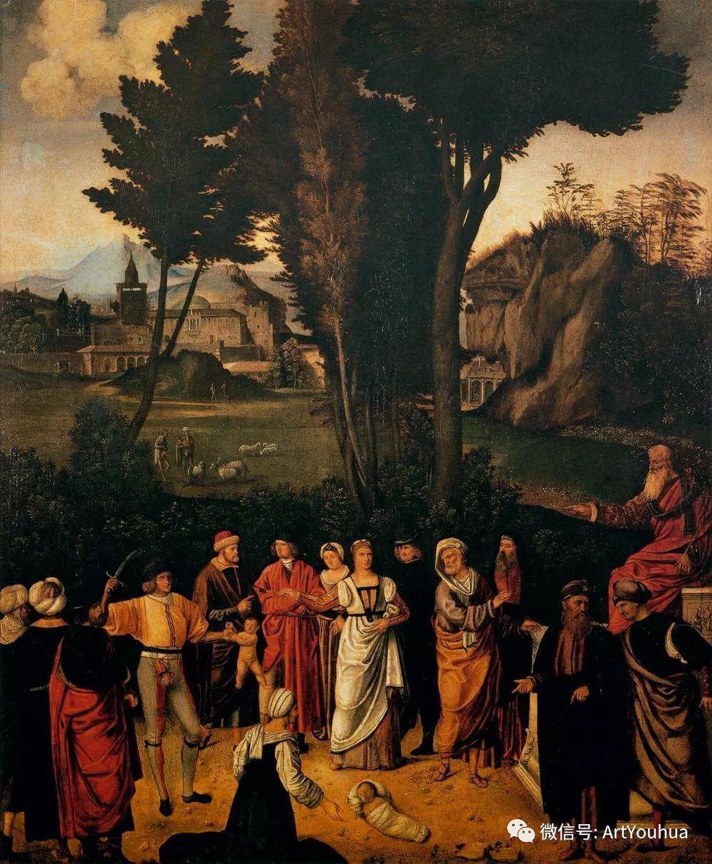 连载No.9 乔尔乔内 | 著名的意大利威尼斯画派画家插图33