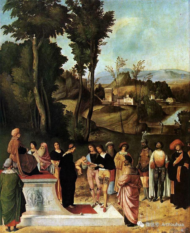 连载No.9 乔尔乔内 | 著名的意大利威尼斯画派画家插图35