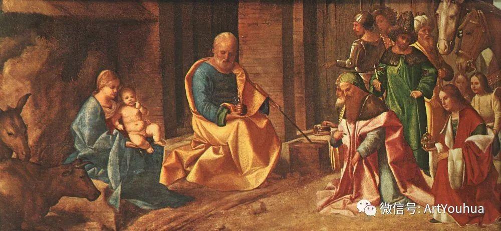 连载No.9 乔尔乔内 | 著名的意大利威尼斯画派画家插图43