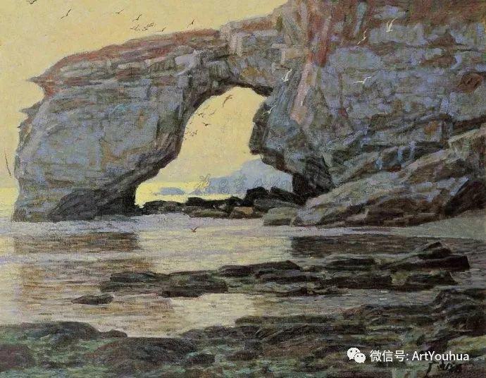 钢水·汗水 广廷渤油画欣赏插图7