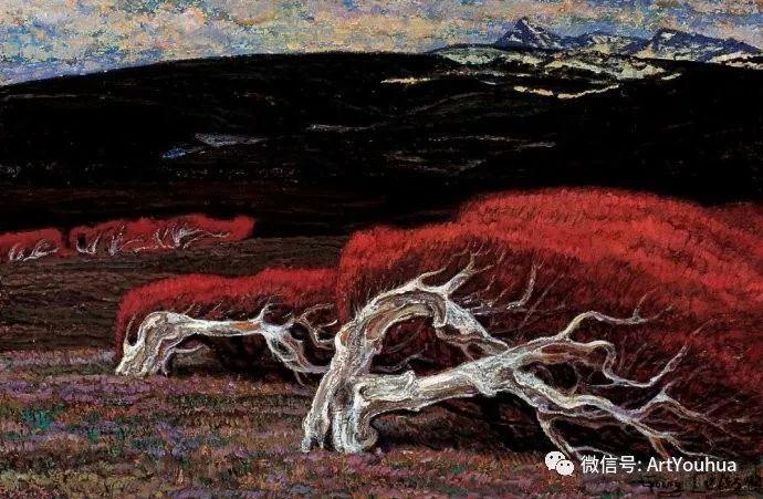 钢水·汗水 广廷渤油画欣赏插图8