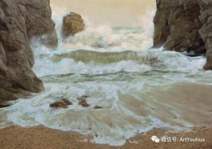 钢水·汗水 广廷渤油画欣赏插图13