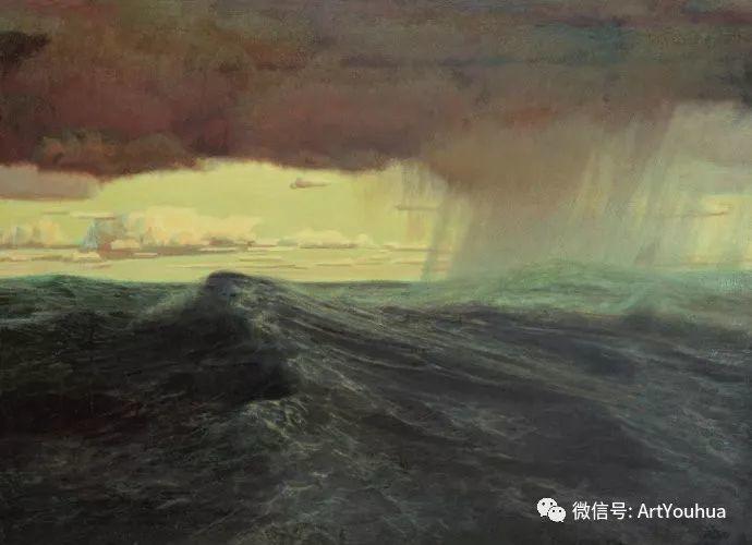 钢水·汗水 广廷渤油画欣赏插图14