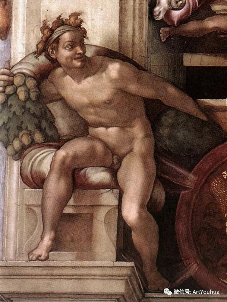 连载No.8 米开朗基罗·博那罗蒂   一生要知道的100位世界著名画家插图41