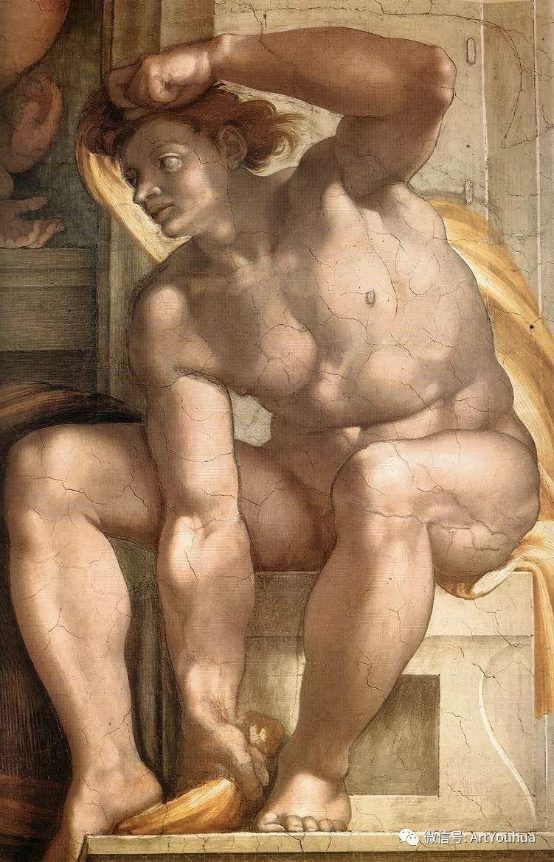 连载No.8 米开朗基罗·博那罗蒂   一生要知道的100位世界著名画家插图47