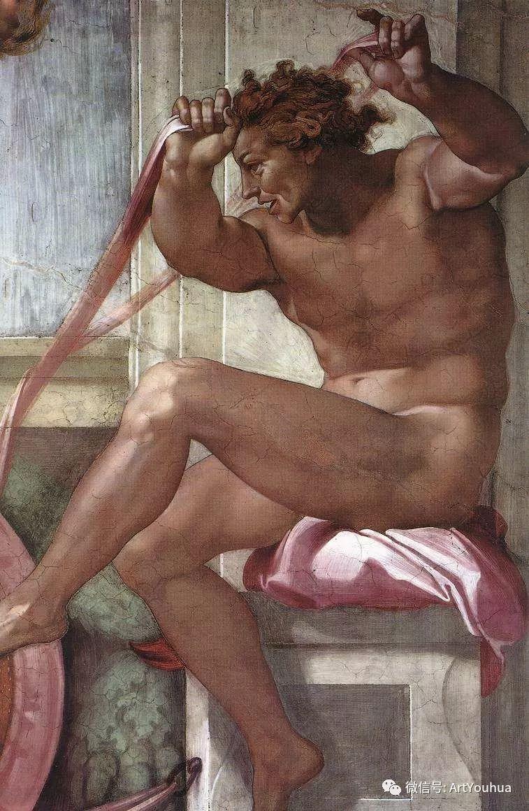 连载No.8 米开朗基罗·博那罗蒂   一生要知道的100位世界著名画家插图49