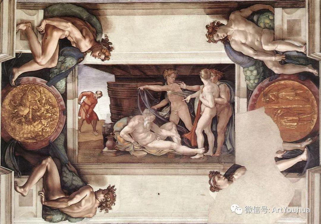 连载No.8 米开朗基罗·博那罗蒂   一生要知道的100位世界著名画家插图55