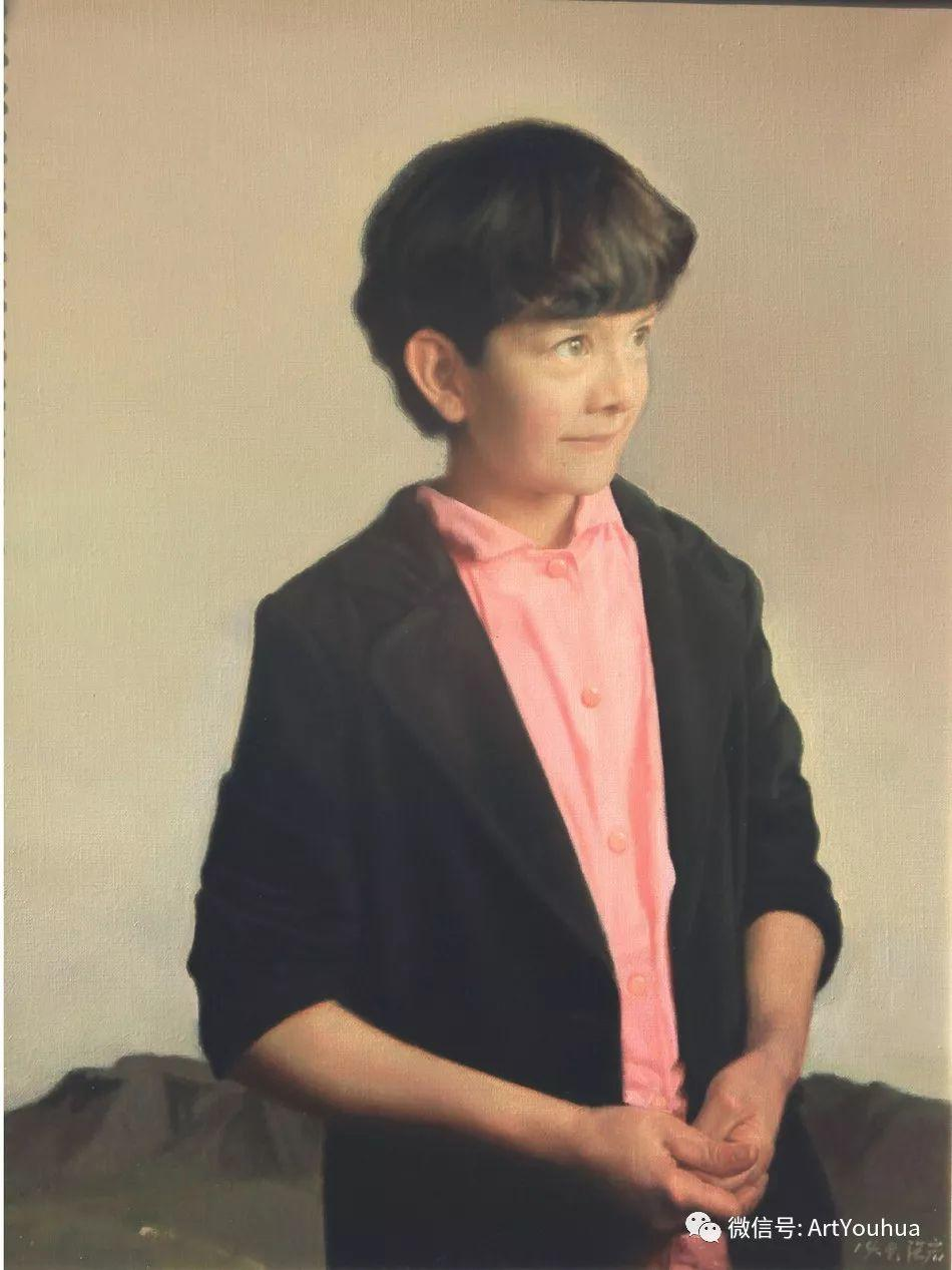 当代青年写实油画作品欣赏插图41
