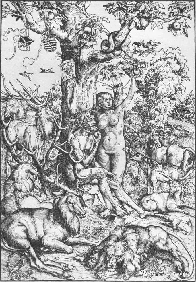 连载No.7老卢卡斯·克拉纳赫 一生要知道的100位世界著名画家插图39