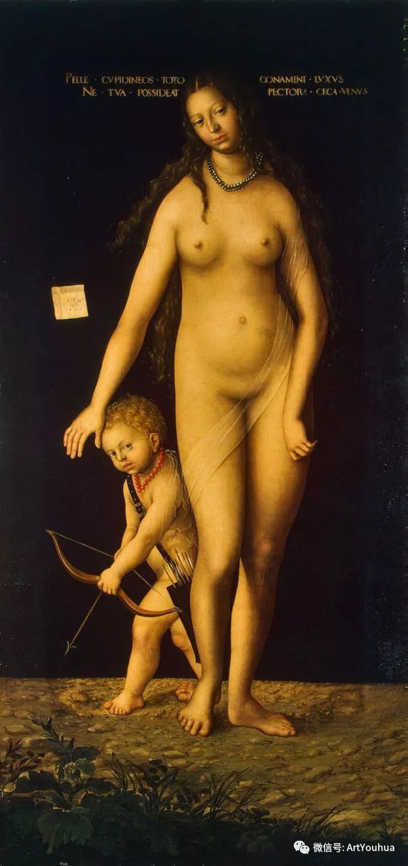 连载No.7老卢卡斯·克拉纳赫 一生要知道的100位世界著名画家插图67