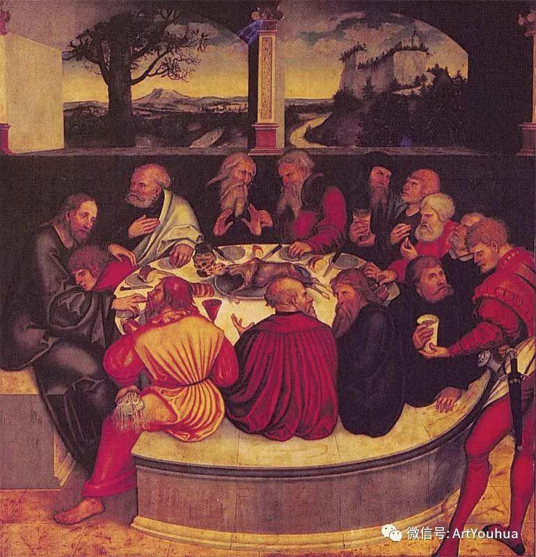 连载No.7老卢卡斯·克拉纳赫 一生要知道的100位世界著名画家插图77