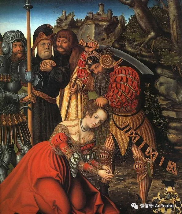 连载No.7老卢卡斯·克拉纳赫 一生要知道的100位世界著名画家插图79