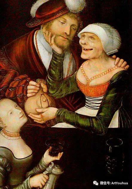连载No.7老卢卡斯·克拉纳赫 一生要知道的100位世界著名画家插图81
