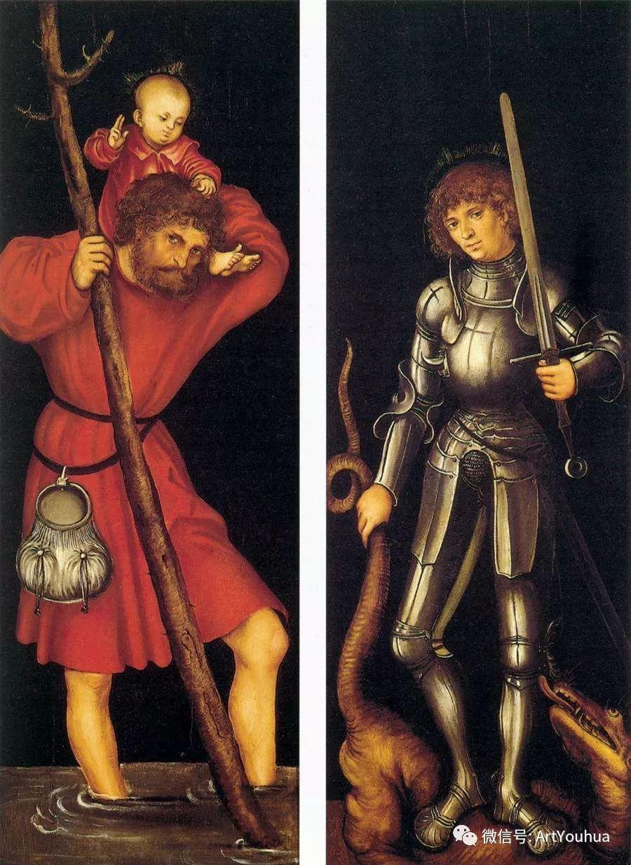 连载No.7老卢卡斯·克拉纳赫 一生要知道的100位世界著名画家插图111