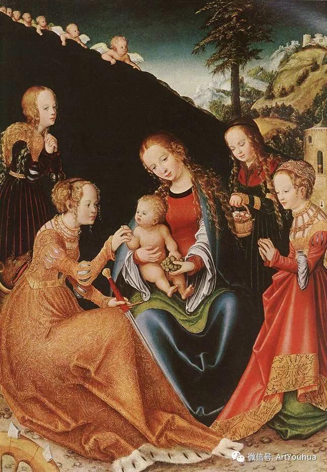 连载No.7老卢卡斯·克拉纳赫 一生要知道的100位世界著名画家插图137
