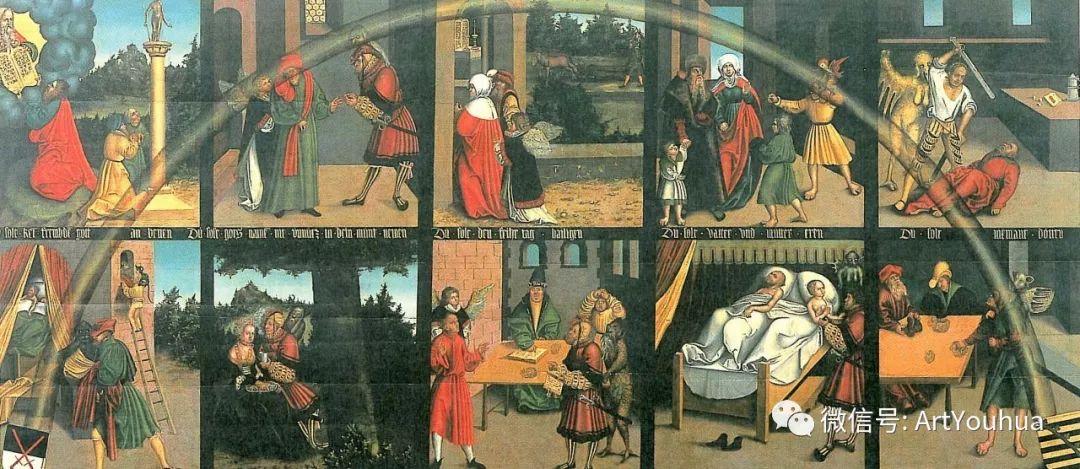 连载No.7老卢卡斯·克拉纳赫 一生要知道的100位世界著名画家插图141