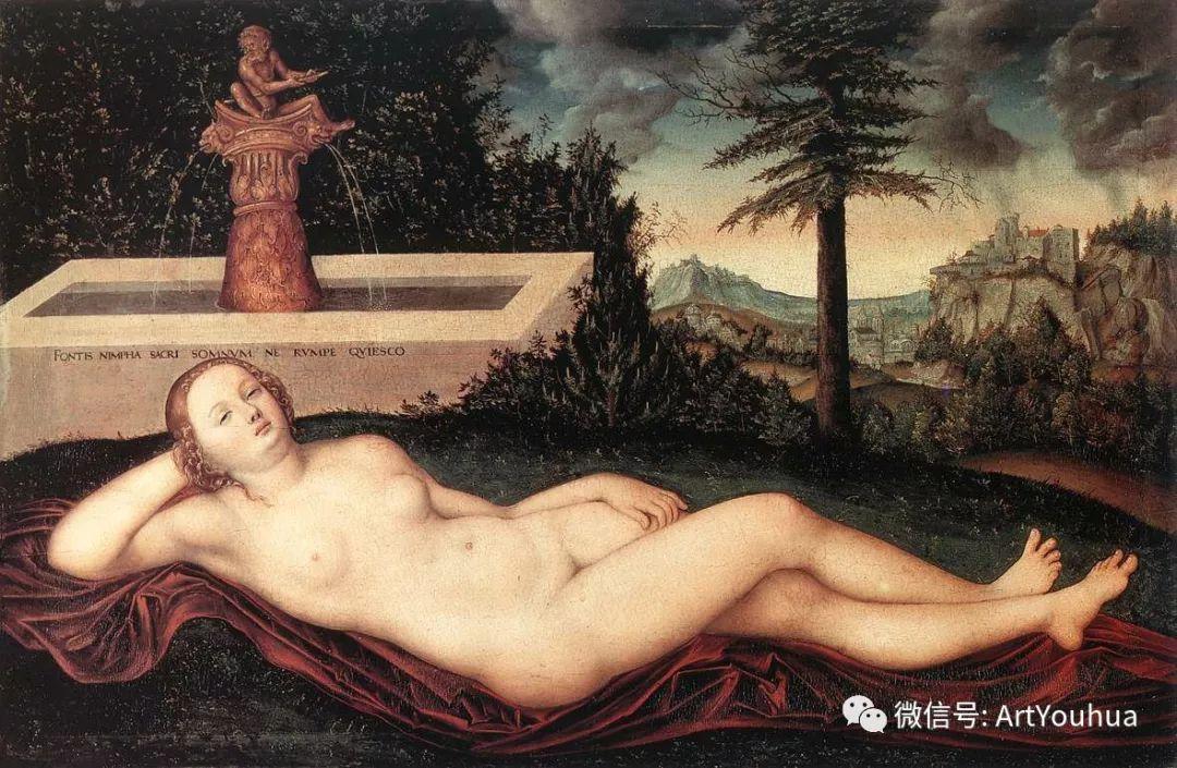 连载No.7老卢卡斯·克拉纳赫 一生要知道的100位世界著名画家插图151