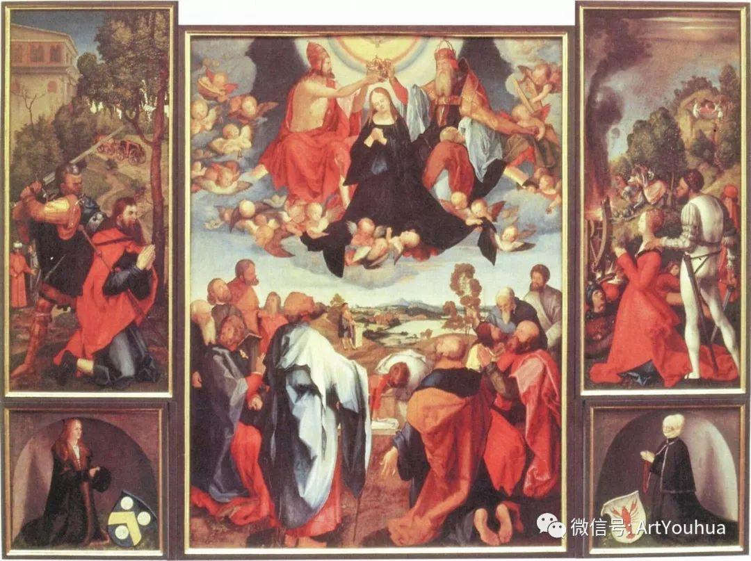 连载No.5 一生要知道的100位世界著名画家之格吕内瓦尔德插图8