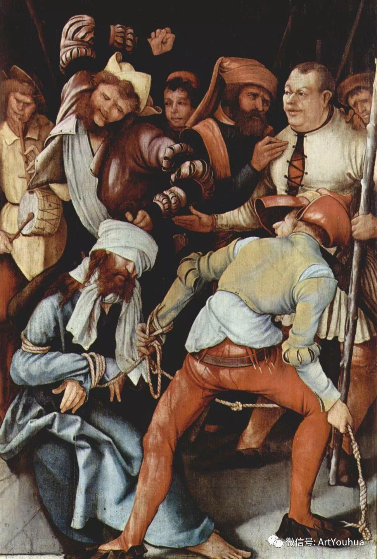 连载No.5 一生要知道的100位世界著名画家之格吕内瓦尔德插图12
