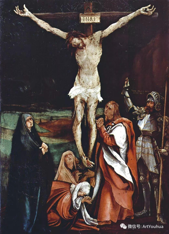 连载No.5 一生要知道的100位世界著名画家之格吕内瓦尔德插图14