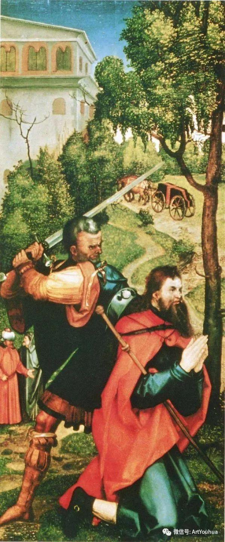 连载No.5 一生要知道的100位世界著名画家之格吕内瓦尔德插图17