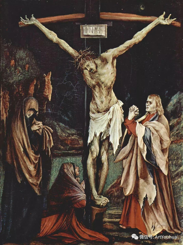 连载No.5 一生要知道的100位世界著名画家之格吕内瓦尔德插图25