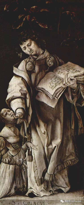 连载No.5 一生要知道的100位世界著名画家之格吕内瓦尔德插图37