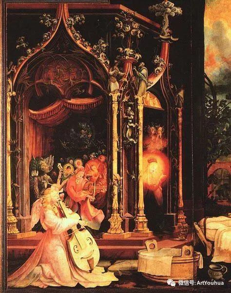 连载No.5 一生要知道的100位世界著名画家之格吕内瓦尔德插图83