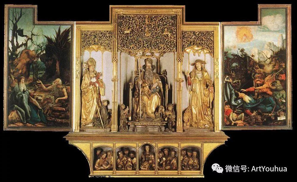 连载No.5 一生要知道的100位世界著名画家之格吕内瓦尔德插图89
