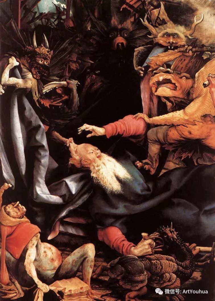 连载No.5 一生要知道的100位世界著名画家之格吕内瓦尔德插图117