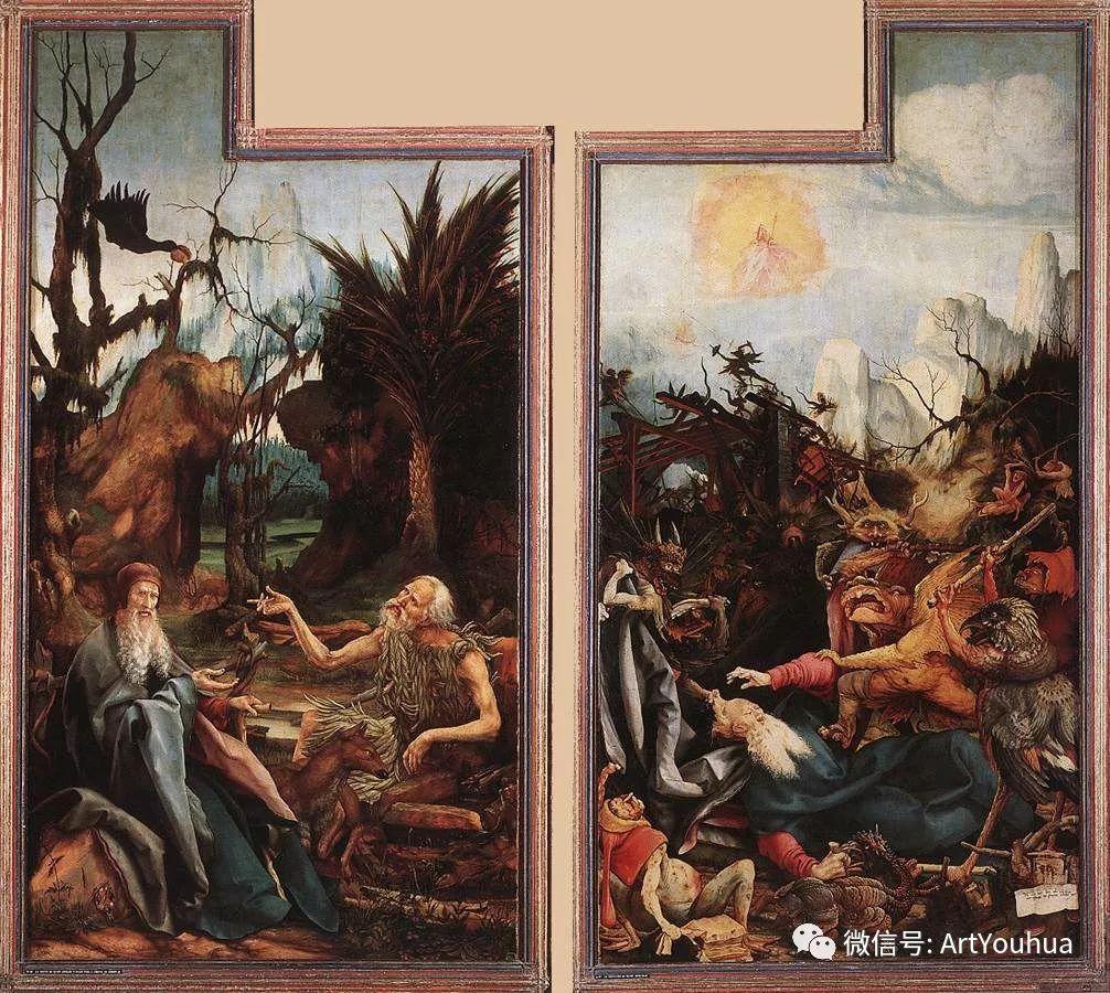 连载No.5 一生要知道的100位世界著名画家之格吕内瓦尔德插图125