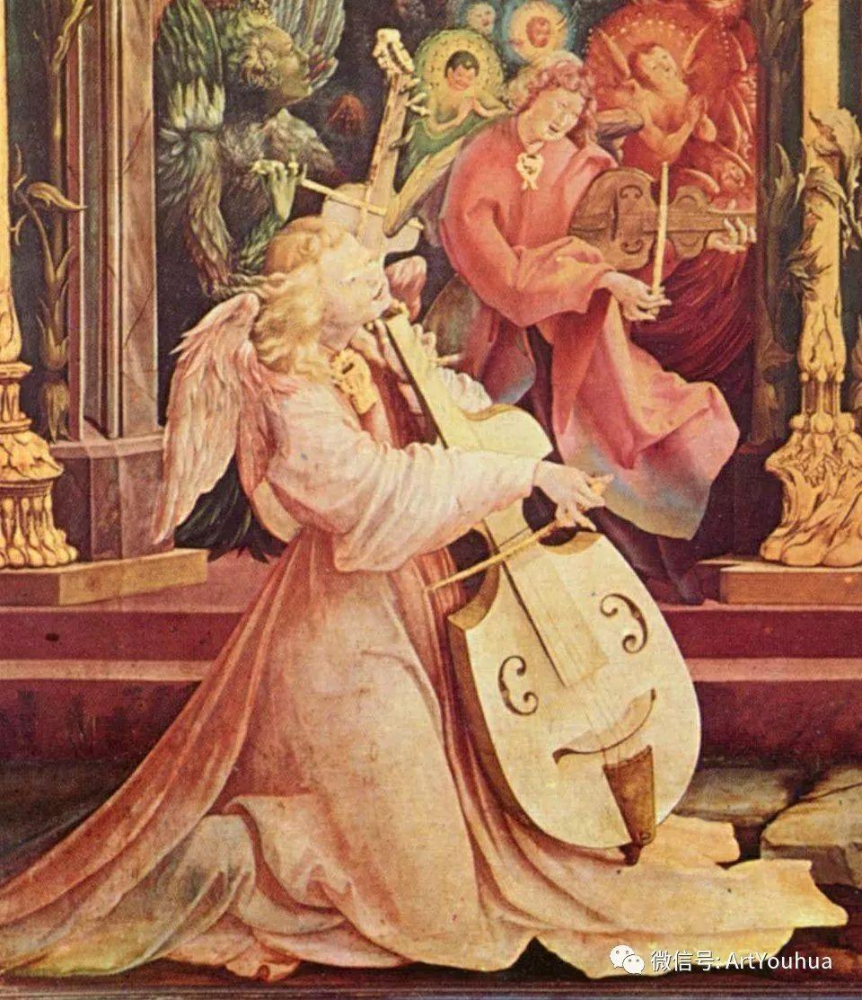 连载No.5 一生要知道的100位世界著名画家之格吕内瓦尔德插图149