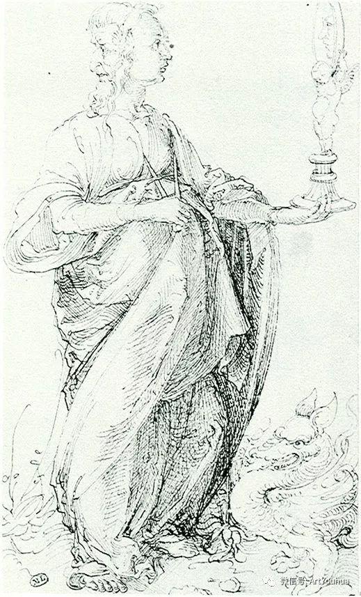 连载No.6 一生要知道的100位世界著名画家之丢勒插图73