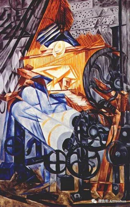 俄罗斯前卫艺术家Natalia Goncharova (1881-1962)插图3