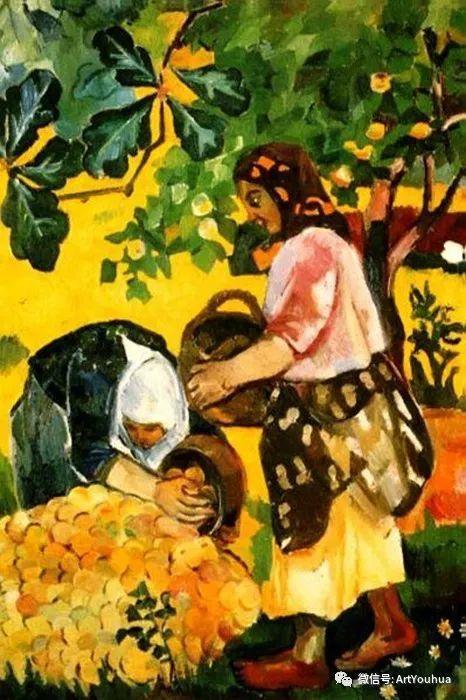 俄罗斯前卫艺术家Natalia Goncharova (1881-1962)插图5