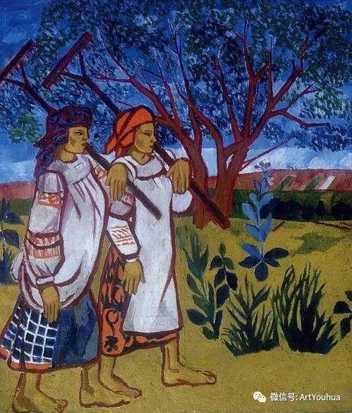 俄罗斯前卫艺术家Natalia Goncharova (1881-1962)插图11