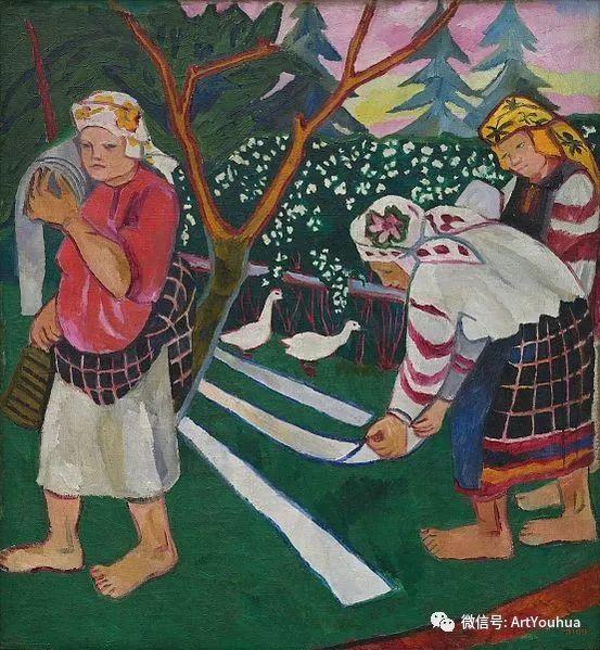 俄罗斯前卫艺术家Natalia Goncharova (1881-1962)插图13