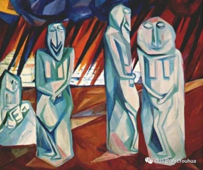 俄罗斯前卫艺术家Natalia Goncharova (1881-1962)插图15