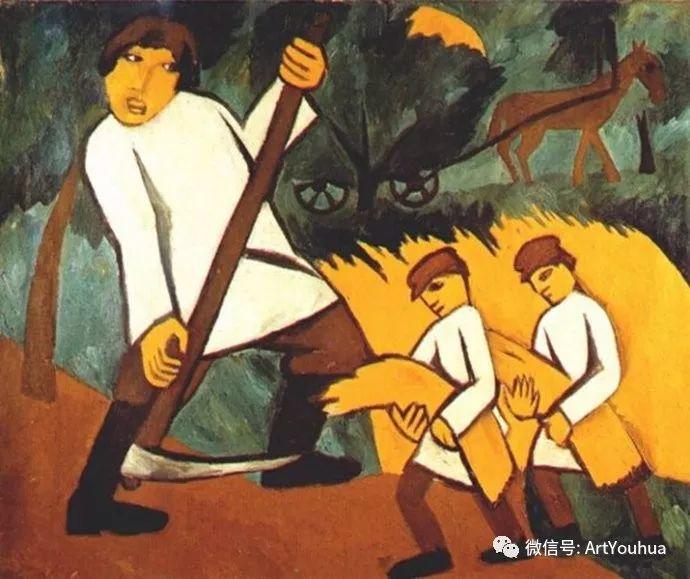 俄罗斯前卫艺术家Natalia Goncharova (1881-1962)插图19