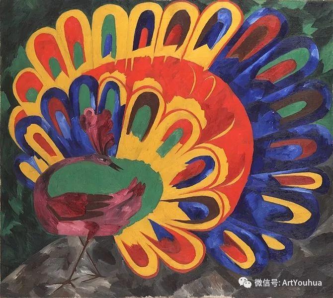 俄罗斯前卫艺术家Natalia Goncharova (1881-1962)插图25