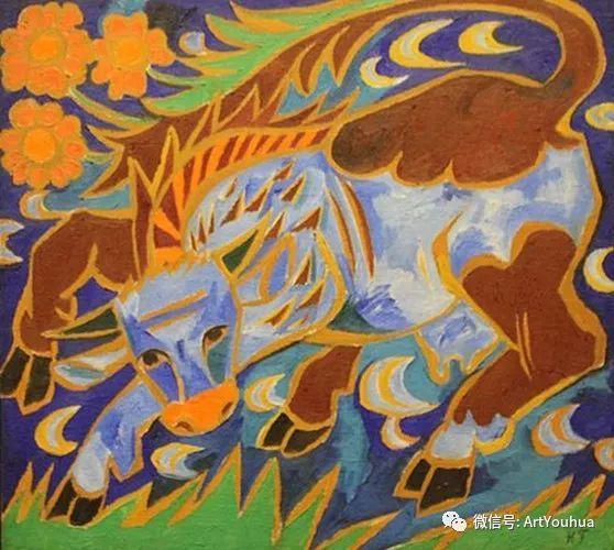 俄罗斯前卫艺术家Natalia Goncharova (1881-1962)插图27